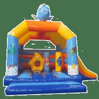 bada-boum - Fish inflatable Castle