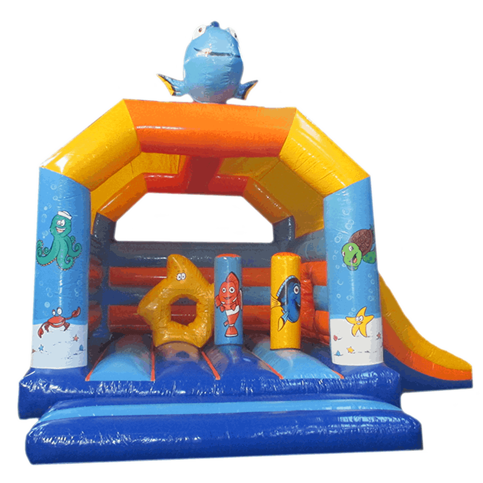 bada-boum - Fish inflatable Castle