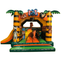 bada-boum - Jungle Inflatable Castle