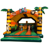 bada-boum - château gonflable jungle 02
