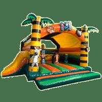 bada-boum - Jungle Inflatable Castle