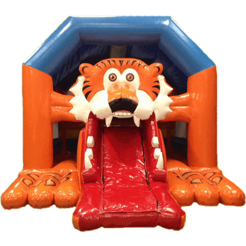 bada-boum - Tiger Inflatable Castle